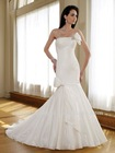 Graceful Strapless Mermaid 2012 Latest Bridal Wedding Gowns