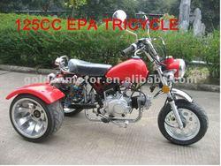 HDT125-3L 125cc EPA china 3 wheel handicapped scooter bike