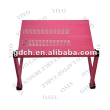 Push Button Joints Folding Laptop Bed Table for Home
