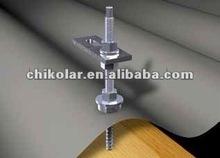 rack for solar panels