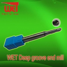 Ball Nose End Mill For Deep Groove Processing