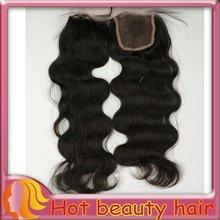 Hot Beauty Swiss Lace Brazilian Hair Lace Closure Weaves