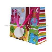 Chidren's Damask Gift Bags For Gift shop