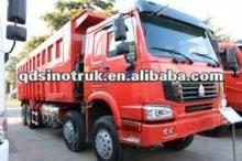 Sinotruk HOWO A7 8*4 used man diesel trucks
