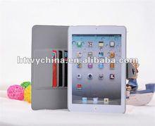 Polka Dots Kickstand leather case for iPad mini