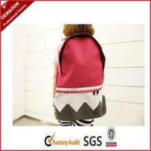 2012 stylish school backpack for girls