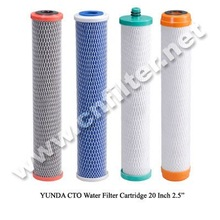 Activated Carbon Block Water Filter 20