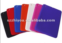 Soft Silicone Rubber Case For Apple Ipad mini