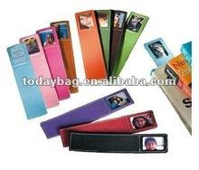 2012 New Designes Leather Bookmarks