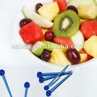 food grade plastic disposable novel sword fruit pick