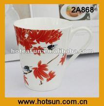 2012 Durable Popular&Elegant Fine Bone China Ceramic Tea Coffee Mug 2A868