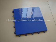 basketball ground wood PP sports flooring tile