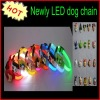 Various colour LED light dog collar / chain wholesale price