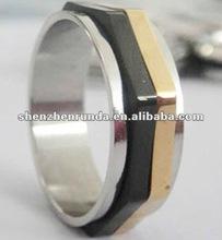 2012 Custom design finger ring custom made two finger rings