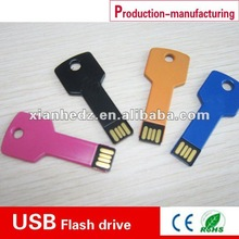 warranty mini usb disk, high quality metal key shape usb disk China Suppliers,manufacturers and exporters