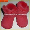 Pele de carneiro do bebê botas de neve 100% Natural austrália pele de carneiro botas de pele