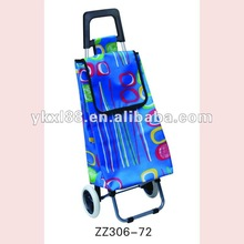 600D polyester & foldable shopping trolley,supplier trolley bag