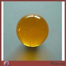 Transparent Yellow 50-220mm Diameter Lucite Balls
