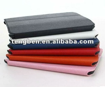 Newest elegant table pc case for ipad mini with top quality PU material