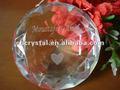 Clara de vidro de cristal de diamante decoração de mesa de casamento favores. Diamante de vidro