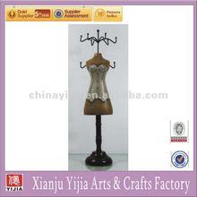 New Wooden mannequin handmade fairy jewelry dress holders