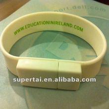 wholesale promotional gift Silicone wrist usb flash drive 1gb- 32gb