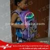 new design fashion 2012 school bag with led light for children