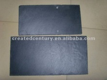 Black roof slate tile with predrill hole in 60x30 and 50x25cm