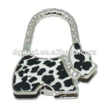 2012 new design bag accessories cute animal bag hanger