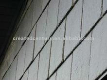 Natural black slate roof