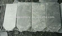 Natural grey slate roof tile