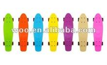new plastic skateboards 2012,mini penny skateboard,Mini Curiser Transparent Penny Skateboard,fish penny skateboard