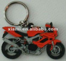 2013 soft Pvc keychains soft plastic keychains Motorbike