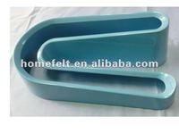 High quality hot selling 100% Melamine U shape egg plate