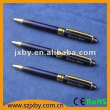gift set pen flashlight promotion metal ball pen