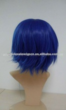 Blue corlor cosplay party city wigs