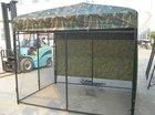 steel pet cage dog kennel