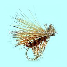 dry fly Elk Hair Caddis Tan