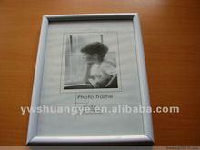 6x8 white pvc photo frame mail