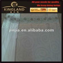 2012 fashion voile embroidery curtain fabric