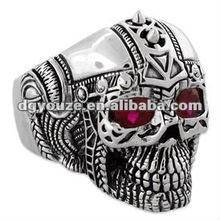 2012 Stainless Steel Skull Rings SKR026