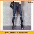 Caliente de la muchacha, Capri jeans muchacha, Moda, Suave