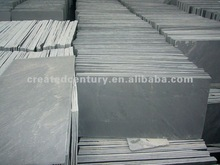 Indoor slate flooring with flat surface and diagonal lines