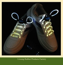 2012 new fashion lightening led shoe lace/led flashing shoelaces