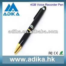 2012 New Arrival Nice Real Pen 4GB Mini USB Recorder