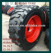skid steer tires with wheels 10-16.5
