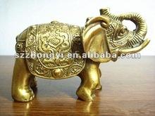 brass elephant/elephant figurines/elephant ornament