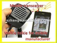mobile phone walkie talkie /mobie phone transceiver