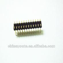 2*12Pin Hirose pin header connector 2.54mm pitch