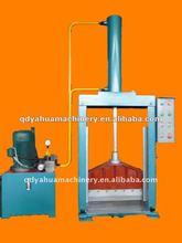 China Made Bale Cutting Machine/Vertical Single Knife Rubber Slice Cutter/Cutting Machinery